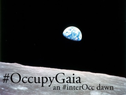 Occupy Gaia (Apollo 8 Earthrise)