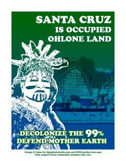 Santa Cruz is Occupied Ohlone Land