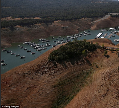 Lake Oroville drought 2014